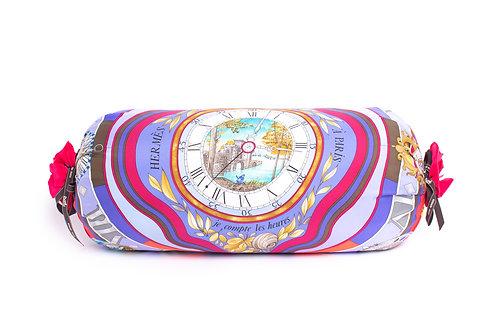 Scarf Bolster Pillow Hermes Vintage Parmi Les Fleurs Scarf