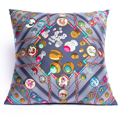 Square Pillow Hermes Vintage Petite Main Scarf