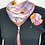 Thumbnail: Triangle Losange/Headwrap and flower pin from Vintage Pucci silk