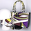 Thumbnail: Handbag, pleated mask & flower pin from Vintage Pucci Scarf