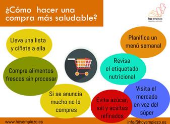 8 consejos para hacer una compra más saludable