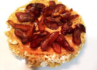 Tortitas de quinoa, avena y sésamo
