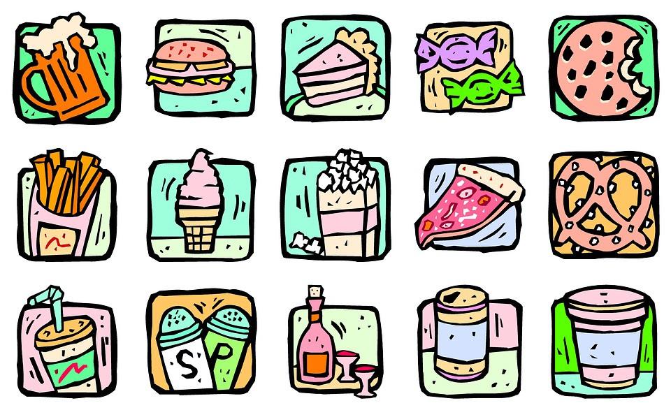Alimentos salados con azúcar