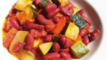 Judias rojas con verduras