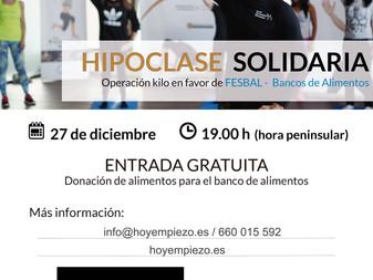 ¡Clase de hipopresivos solidaria!