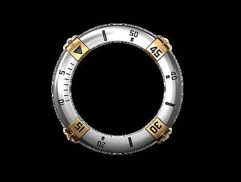Lunette Tango Charlie 60 min en OR 18 carats