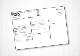 RSb Klebeetikett maschinenfähig C5 Dr. Grazer + Co.