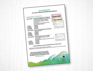 Gästeverzeichnisblatt Information Dr. Grazer + Co.