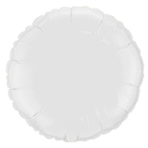 "Redondo liso Branco 18"" UNIDADE (Megatoon)"