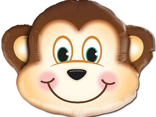 """Macaco sapeca 35"""" UNIDADE (Qualatex)"""
