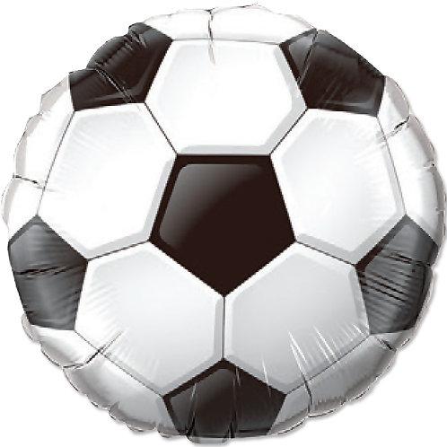 "Redondo Estampa Bola de futebol 20"" UNIDADE (Megatoon)"