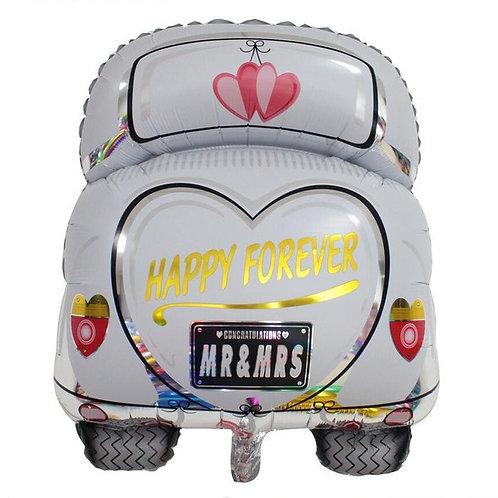 """Fusca Recém casados Happy forever 31"""" UNIDADE (Betalic)"""