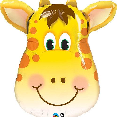 "Girafa alegre 32"" UNIDADE (Qualatex)"