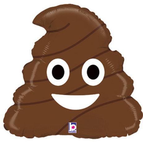 "Emoji Poo 20"" UNIDADE (Betalic)"