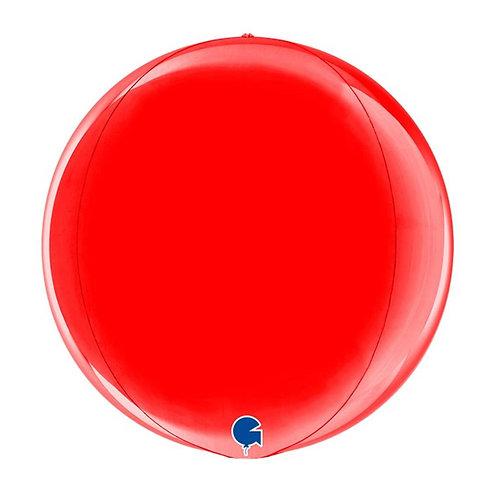 """Orbz Vermelho 15"""" UNIDADE (Grabo)"""