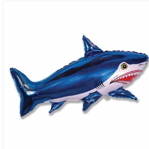 """Tubarão azul 39"""" UNIDADE (Megatoon)"""