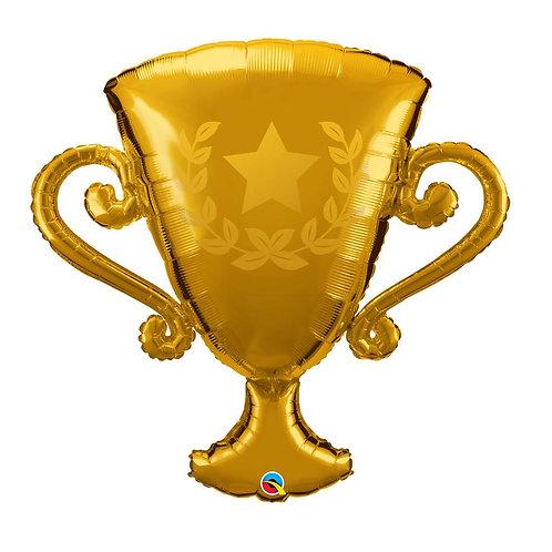 """Taça troféu de ouro 39"""" UNIDADE (Qualatex)"""