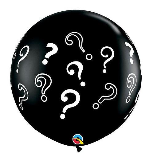 """Balão Latex Revelação 36"""" UNIDADE (Qualatex)"""