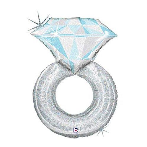 """Anel aliança com diamante 38"""" UNIDADE (Betalic)"""