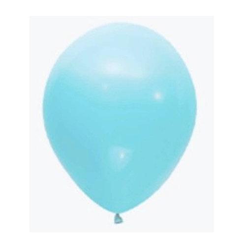 "Balão Latex Pastel Azul Baby 12"" UNIDADE (Sempertex)"