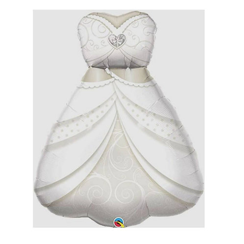 "Vestido de noiva 38"" UNIDADE (Qualatex)"