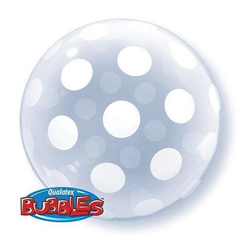 "Bubble liso Bolas grandes 22"" UNIDADE (Qualatex)"