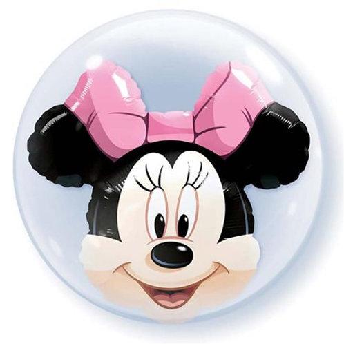 "Bubble Duplo Minnie Disney 24"" UNIDADE (Qualatex)"