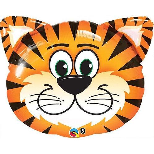 "Tigre sorridente 30"" UNIDADE (Qualatex)"