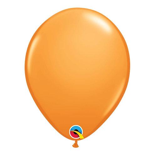 "Balão Latex Liso Laranja 11"" UNIDADE (Qualatex)"