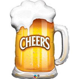 "Caneca Chopp Cheers 35"" UNIDADE (Qualatex)"