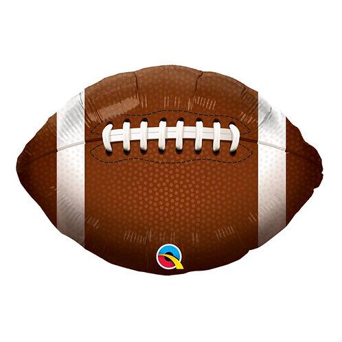 """Bola de futebol americano 18"""" UNIDADE (Qualatex)"""