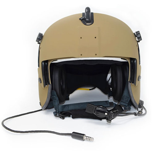 HGU-56/P Lightweight Rotary Wing Helmet (RWH) Tan