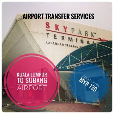 KUALA LUMPUR TO SUBANG AIRPORT