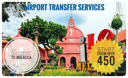 KLIA AIRPORT TO MALACCA