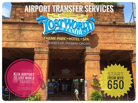 KLIA AIRPORT TO LOST WORLD OF TAMBUN