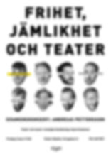 Affisch_A3_Final_Frihet_Jämlikhet_Teater