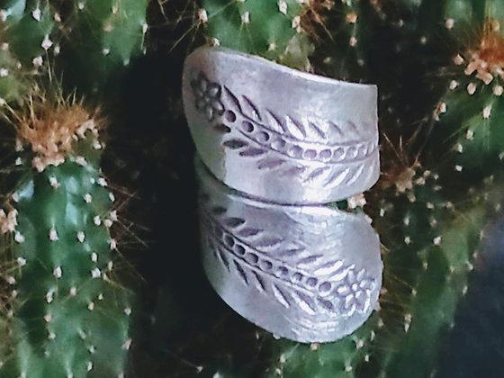 Anillo de plata étnica Indira