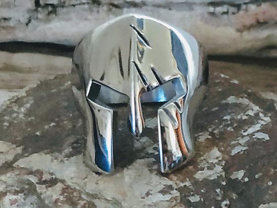 Anillo casco Espartano