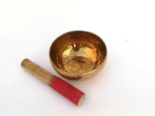 Cuenco tibetano Shundari de13cm. Siete metales hecho a mano.