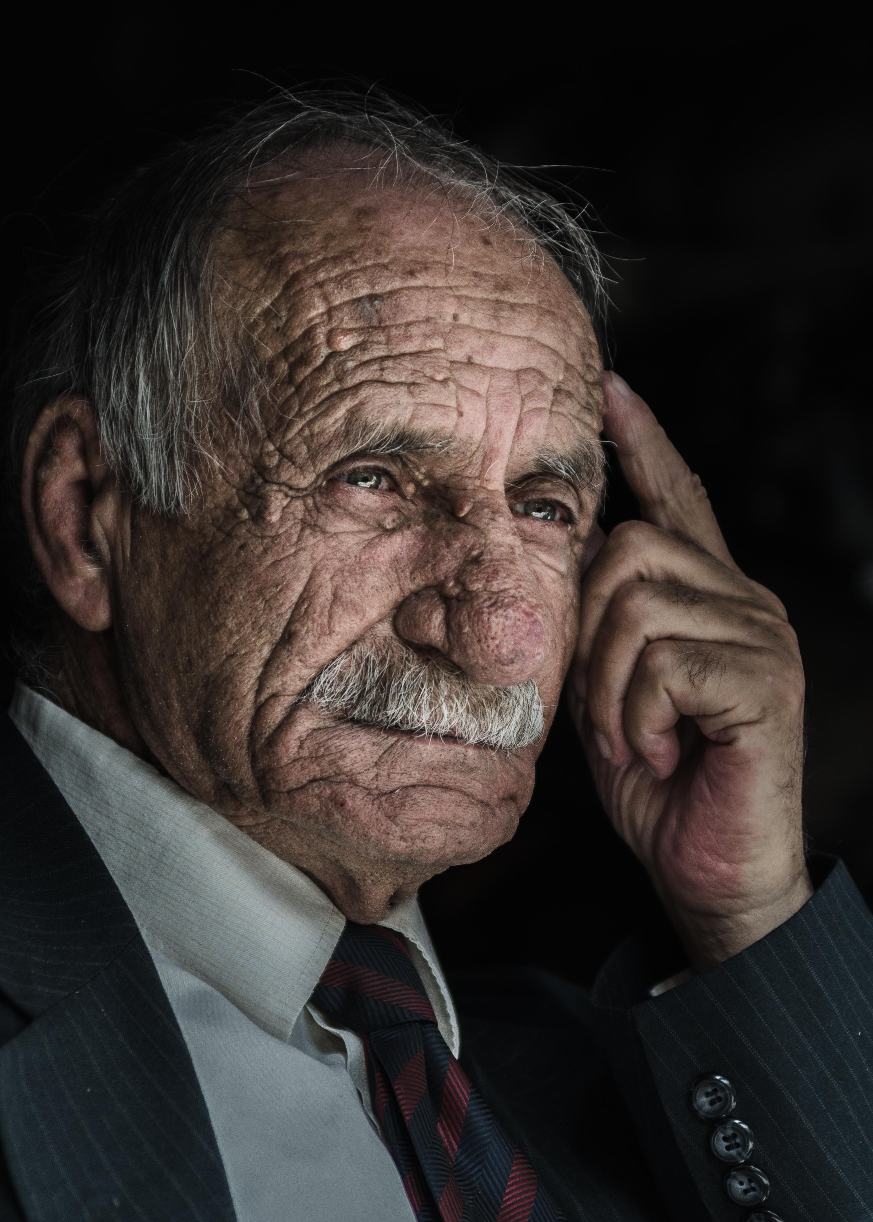 wrinkles portrait