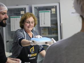 Ação de voluntariado na Refood Cascais