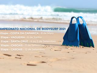Novas Datas - Campeonato Nacional de Bodysurf