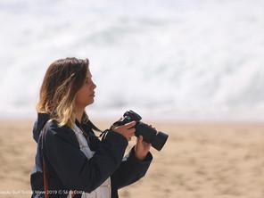 Sara, Fotógrafa e Surfista