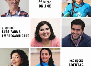 Novo Programa Surf para a Empregabilidade - a 5ª edição é Online