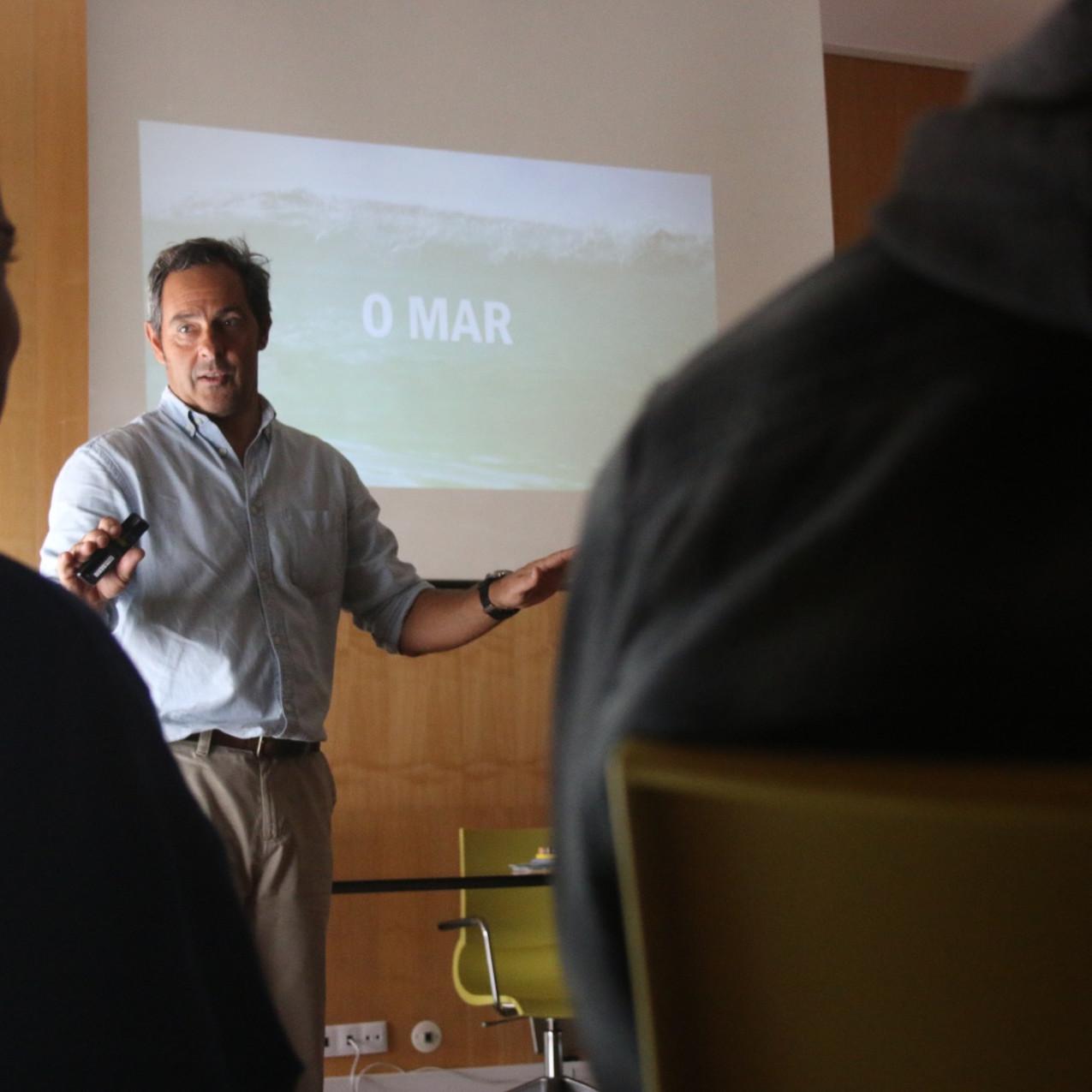 Sessão de orador - antonio pedro