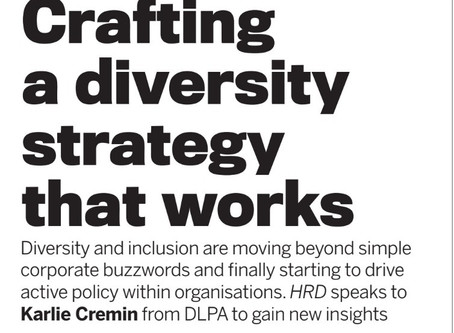 Crafting a diversity strategy that works