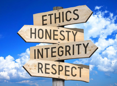 Ethical Business Behaviour: More Than Just Compliance