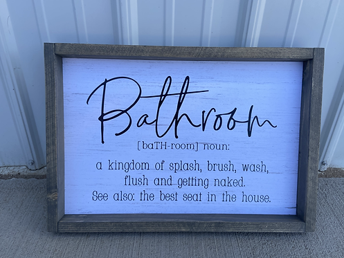 Bathroom definition