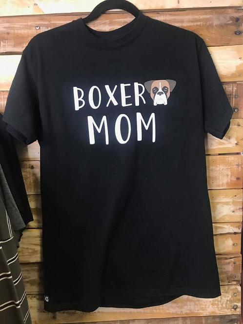 Boxer mom short sleeve