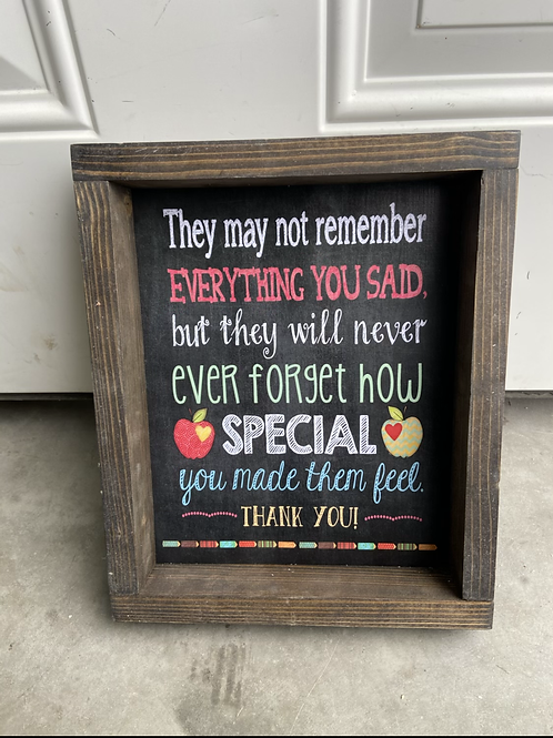 Special you made them feel